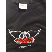 Playera Aerosmith Concierto Mexico