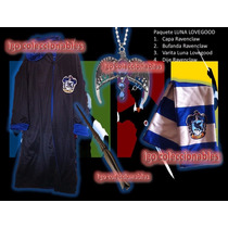 Paquete Luna Lovegood Capa Varita Ravenclaw Harry Potter Buf