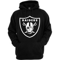 Blusa Oakland Raiders - Nfl - Futebol Americano - Moletom