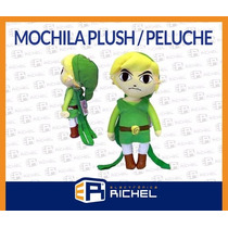 Mochila Peluche Link The Legend Of Zelda Coleccion