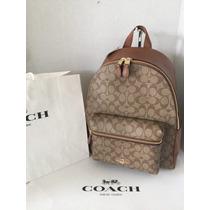 Backpack Coach Bolsa Mk Back Pack Mochila Original