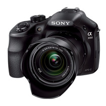 Camara Sony Alpha 3000 20.1 Mp, Kit 18-55mm, Full Hd, Tienda