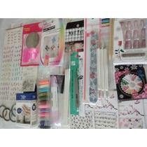 Kit Decoración Uñas Dotting Glitters Art Nail P11 Completo
