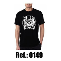 Camiseta Camisa Rock Gnr Guns N Roses