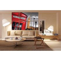 London Paisaje En Bastidor Tela Canvas De 180x120 Cm Exelent