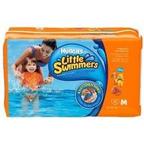 Pañales Huggies Little Swimmers M Playa Pileta Agua
