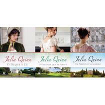 Coleção Júlia Quinn Com 3 Livros. Julia Quinn