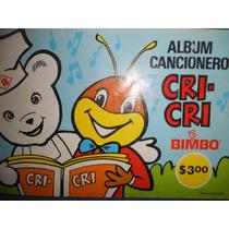 Album De Cri Cri ( Bimbo ) ( Años 70s ) ( Con 12 Estampas )