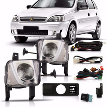 Kit Farol Milha Corsa Sedan 2008 + Kit Xenon 6000k