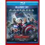 Blu-ray: Os Vingadores - Era De Ultron - Novo - 3d