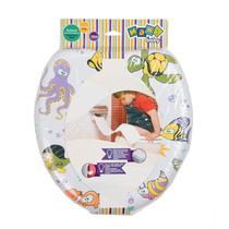Assento Vaso Sanitário Infantil Acolchoado Redutor C/espuma