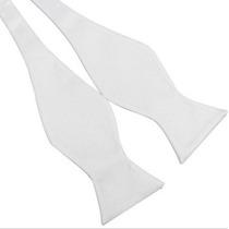 Humita Papillon Blanco, Para Traje, Camisa, Boda, Formal