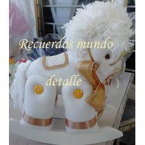 Centros De Mesa Bautizo Recuerdos Detalles Caballos Animales