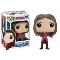 Funko Pop Civil War Scarlet Witch Marvel Pop Modelo 133