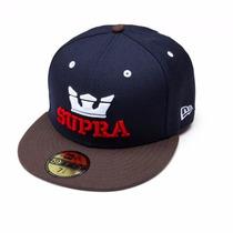 Gorra Supra Original New Era Fifty Nueva !