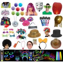 Paquete Batucada Fiesta Xv Años Boda Neon Varios Artículos