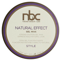 Cera Gel Wax Natural Nbc 300 Gr Fijacion Con Aspecto Natural
