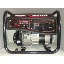 Generador Pw4500 Watts A/manual Marca Poweren