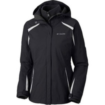 Campera Columbia Blazing Star Desmontable 3 En 1 Termica Sky