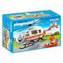 Playmobil - City Life - Helicóptero De Resgate Médico - 6686
