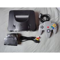 Nintendo 64 Excelente Estado + 1 Controle + 1 Fita Mario 64