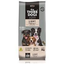 Ração Three Dogs Cães Adultos Light 15 Kg