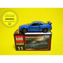 Nissan Skyline R34 Gt-r Vpec Ii Nur Tomica Premium Prox 1/64