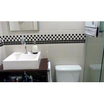 Adesivo Decorativo De Pastilhas Faixas P/ Cozinha E Banheiro