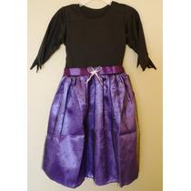 Disfraz Vestido De Bruja, Tallas 2, 4 Y 6