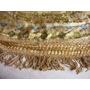 Exquisito Cubrecama Antiguo De Seda Labrada 2 Pz - Impecable