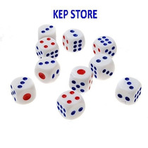 Kit Conjunto 24 Peças Jogo De Dados Rpg 14mm Tabuleiro