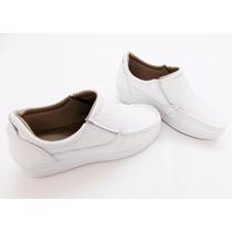 Sapato Feminino Branco Medica, Enfermeira Super Leve
