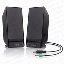 Parlantes Pc Usb Pc 2.1 Potenciado Creative Soundblaster A50