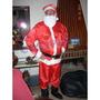 Disfraz De Papa Noel Adulto Navidad
