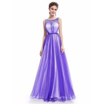 Vestido Princesa Con Tul Y Strass Bodas ,15 Años,moda Pasión