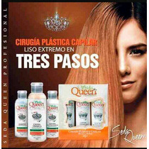 Cirugia Plastica Capilar Original Italiana Seda Queen 50 Ml