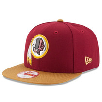 Boné New Era Snapback Original Fit Washington Redskins Gold
