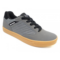 Tenis Road St-67d Red Nose (01) - Cinza/preto