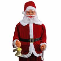 Papai Noel Dancante Musical Natal Decoracao 1,80 Mts