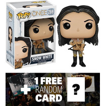 Once Upon A Time Blancanieves: Funko Pop X Vinilo Figura + 1
