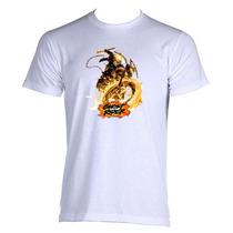 Camiseta Adulto Unissex Motoqueiro Fantasma Ghost Rider 02