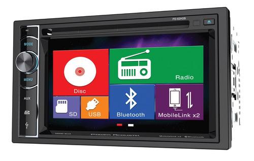 Autoestereo Power Acoustik Pd-62h2b Bluetooth Usb Mhl Sd - $ 3,939.00 en Mercado Libre