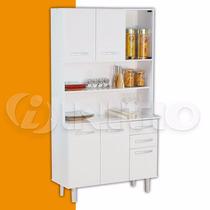 Mueble De Cocina Con Mesada Y Alacena Despensero Mosconi