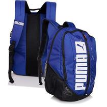 Mochila Puma Deck Backpack, Azul, 100% Original, 30% Off..