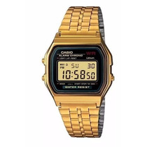 Relógios Classico Retrô Vintage Dourado