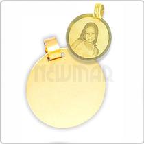 Medalla Oro Fotografica Oro 18 K - 1.3 Grs- El Mejor Regalo!