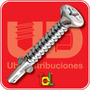 Tornillo Autoperforante Tel-alas 10 X 2 (49mm) Pack X 600