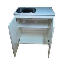 Mueble De Cocina, Oficina O Lavadero Bacha Acero 80cm