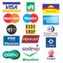 7x Adesivo Cartões De Crédito Visa Master Hipercard Elo Rede