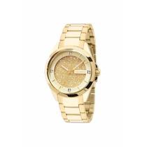 Relógio Technos Dourado Feminino Lindo 203aaa/4x +frete